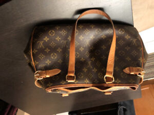 Authentic Vintage Luis Vuitton Handbag & Wallet