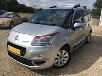 CITROEN C3 PICASSO EXCLUSIVE HDI Silver Manual 1.6 Diesel, 2010