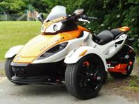 11/11 CAN-AM SPYDER ROADSTER TRIKE WITH KLIKTRONIK 14,000 MILES