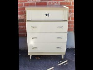 MID CENTURY MODERN TALL BOY - Free Delivery
