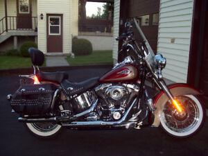 Moto Harley Davidson Heritage Softail Classic
