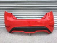 Ford Fiesta st rear genuine bumper 2015