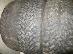 3 P225/65R16 GOODYEAR WINTER TIRES $190.00