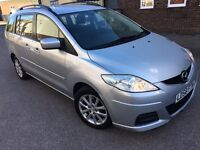 Mazda Mazda5 2.0 TS2 5dr AUTO PETROL 7 SEATER AC CD ALLOY WHEELS 2008 58 REG P/X WELCOME