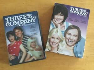 DVD Three's Company Season 1 and 2 -20$