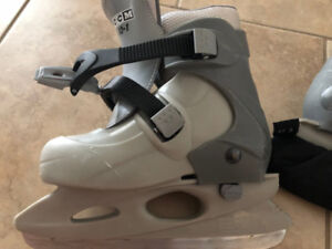 Boys Skates adjustable sizes 12,13,1.