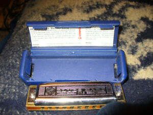 Blues harp harmonica made in Germany .hohner brand
