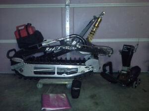 Track kit, snowbike, raddix, r2, timbersled