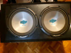 Complete car audio package sell/trade