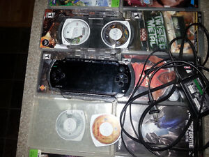 Sony PSP with 13games,2movies & traveling case