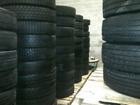 255-70-22.5 Used Semi Tires