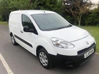 2014 14 PEUGEOT PARTNER PROFESSIONAL 1.6HDI 90BHP ANY UK DELIVERY NO VAT