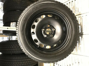 TOYO OBSERVE WINTERS 205-55-16 ON STEEL RIMS(5x112)