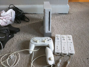 Wii and controllers
