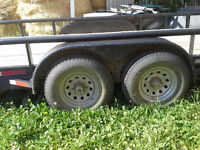8'x24' Bumpers Pull Trailer