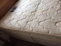 Double divan bed silent night