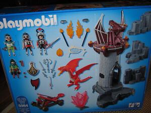 """New"""" large playmobile Castle with Dragons and knights..."""" St. John's Newfoundland image 2"""