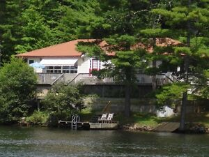 MUSKOKA COTTAGE FOR SALE on the SEVERN RIVER