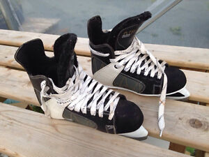two pairs of men's skates size 8 and the other one size 11