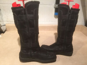 Women's Tall Leather Winter Boots Size 6.5 London Ontario image 6