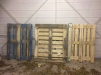 3 pallets, free to collect