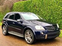 MERCEDES-BENZ ML63 6.3 AMG 7G 4MATIC [LEFT-HAND-DRIVE] [2006-06] [UK REGISTERED]