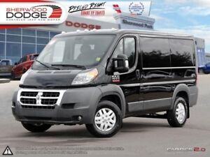 "2018 Ram ProMaster 1500 Low Roof 118"" WB  HEATED DRIVER SEAT 