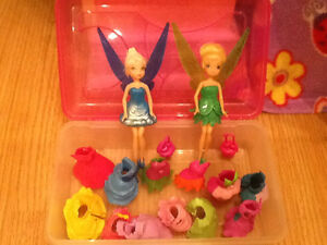 Tinker bell and sister dolls