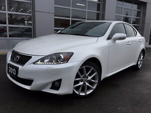 2013 Lexus IS 350 AWD Sedan RARE WHITE $35,000