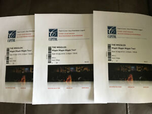 3 wiggles tickets for sale, Balcony Row II