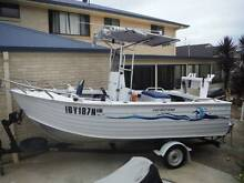 5.4m Ally Craft Reef King Centre Console 2004 Goonellabah Lismore Area Preview