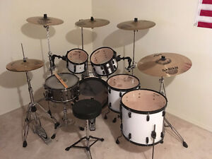 Pearl Vision Birch 5 Pc + Custom Snare + Quality Cymbals/Skins