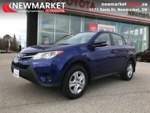2015 Toyota RAV4 FWD LE  - one owner - local - trade-in - $68.49