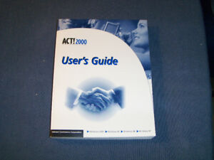 ACT! 2000 USER'S GUIDE-INTERACT COMMERCE CORP-WINDOWS-BOOK