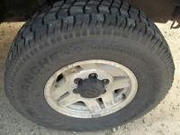 Tires size 31 x 10.50 15LT ( set of 4)