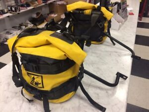 Used Wolfman soft luggage with KTM mountiang rack $380.00 OBO