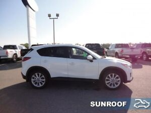 2014 Mazda CX-5 Grand Touring  -  sunroof