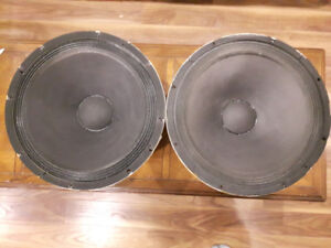 "Celtic Gauss 18"" woofers"