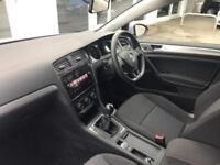 2017 Volkswagen Golf Estate S 1.6 TDI 115PS 5-speed Manual 5 Door Diesel silver