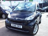 2011 Smart Fortwo Coupe Passion mhd 2dr Softouch Auto [2010] 2 door Coupe