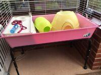 Rabbit/Guinea Pig indoor hutch