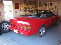 1995 GTC CONVERTIBLE -- May take trades