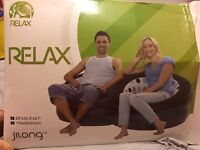 Brand new in box blow up inflatable sofa chair