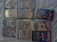 Disney collectable movies