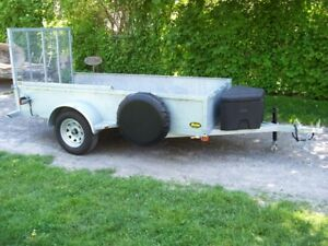 5x10.2 3500lbs cap. hot dipped Galvanized Trailer  NO TAX