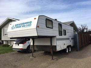 For Sale:  1998 Travelaire Prospector PW215 Fifth Wheel Trailer