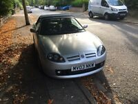 MG TF 57000 miles mot may 17 swap bigger car