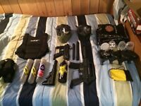 450$ In PAINTBALL GEAR FOR TWO