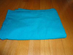 Piece of blue corduroy fabric sewing crafts London Ontario image 3