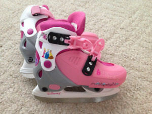 Junior Princess Adjustable Skates Sizes 9 to 12